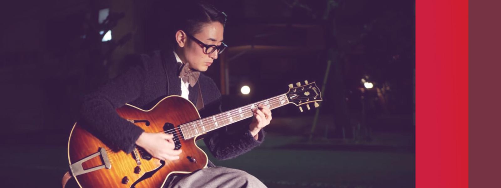 Jazz Guitarist Hirofumi Asaba ジャズギタリスト 浅葉裕文